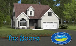 The Boone. Click on the house for plans.