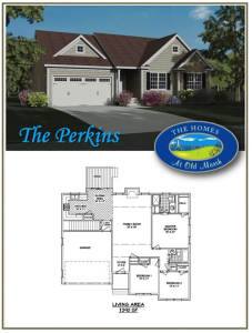 perkins home plan the homes at Old Marsh