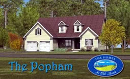 The Popham home design.