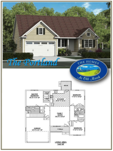 portland home plan - the Homes at Old Marsh
