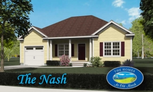 The Nash home design at The Homes at Old Marsh