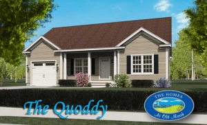 The QUoddy home design at the The Homes at Old Marsh in Wells, ME